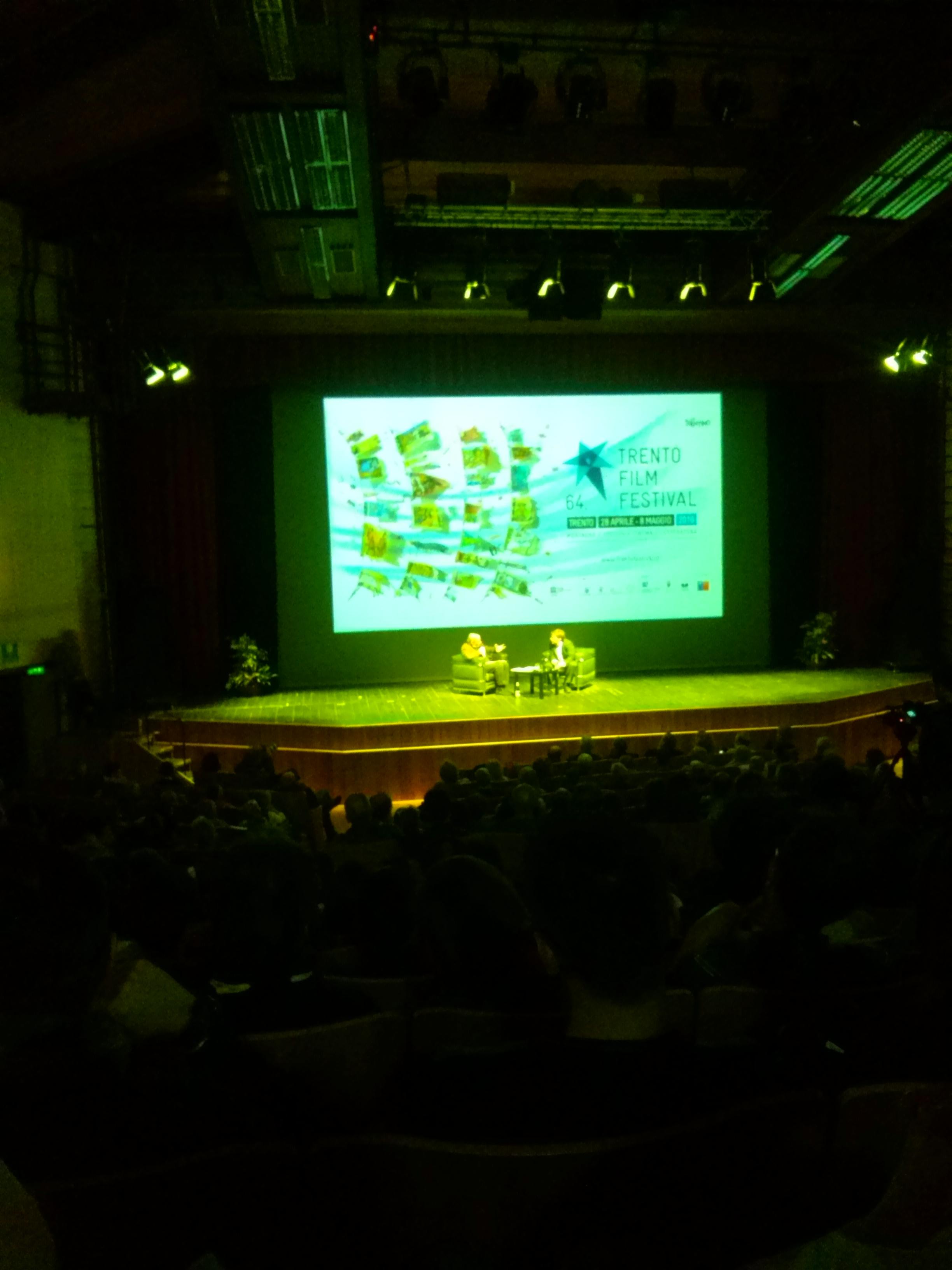 Luca Mercalli e don Luigi Ciotti al Trento Film Festival